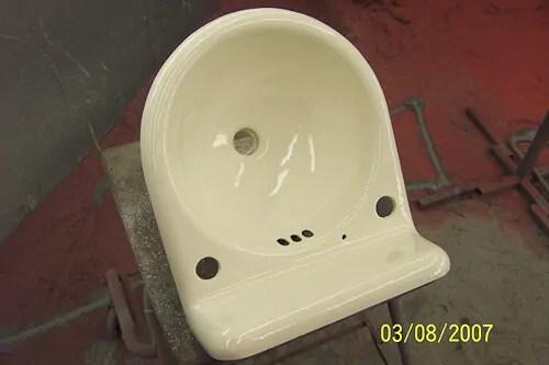 real porcelain enamel coating to