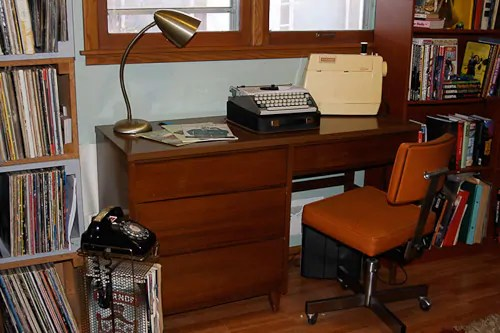 adrian pearsall chair desk office max jon & trixi create a 1970s avocado kitchen with rust-oleum cabinet transformations - retro ...