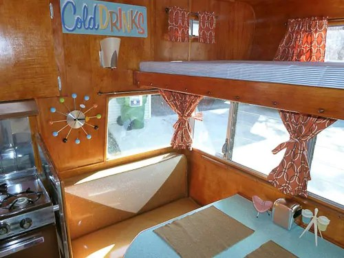 Petes 1964 Shasta trailer  an Astroflyte  a gorgeous restoration  Retro Renovation