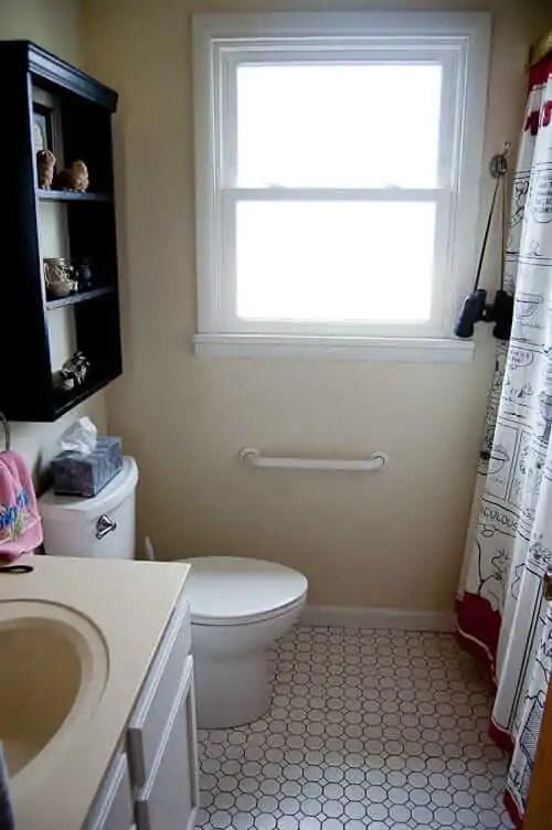 Small bathroom remodel in 5 steps  Retro Renovation