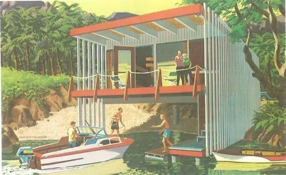 Vacation home for boaters