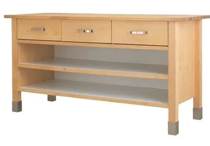 Open Kitchen Base Cabinets