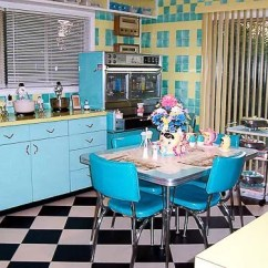 Kitchen Cabinets Dayton Ohio Retro Tables Lori's Pink, Blue And Yellow Kitchen: A Whole Lot Of ...