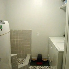 How Much Is A Kitchen Remodel Target Storage Natalie And Graham Add Retro Daltile - Dog Shower ...