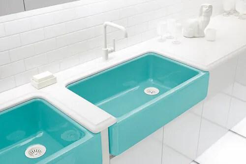 title | Colored bathroom sinks