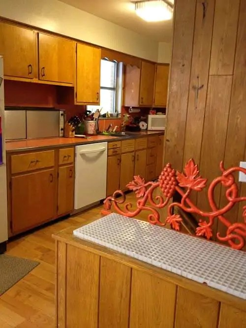 pink countertops kitchen ikea faucet fold-down electric burners and other treats in bonnie's ...