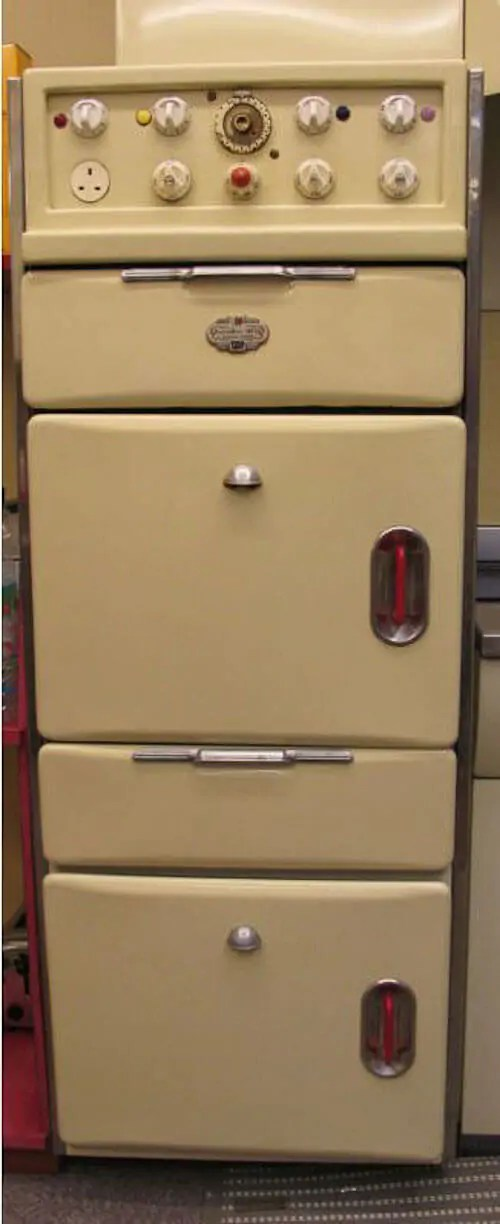 used kitchen cabinets for free small tables sets a vintage 1956 english rose - including revo oven ...
