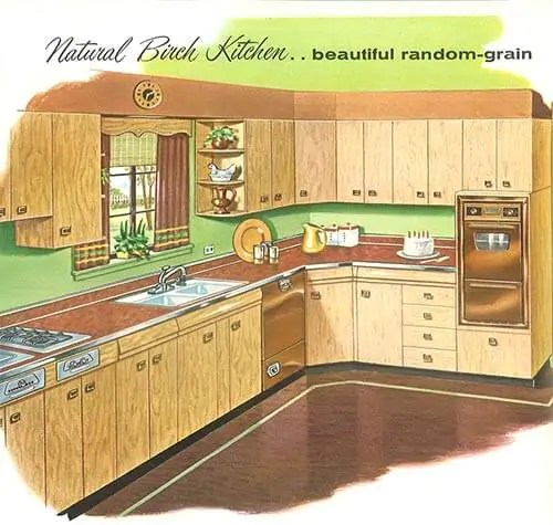 sears kitchen cabinets best new gadgets 1958 and more 32 page catalog retro birch 1950s
