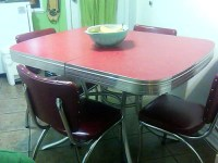 23 red dinette sets - vintage kitchen treasures - Retro ...