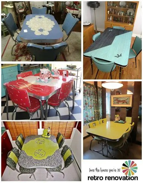 kitchen dinette brandsmart appliance packages sets retro renovation vintage dinettes