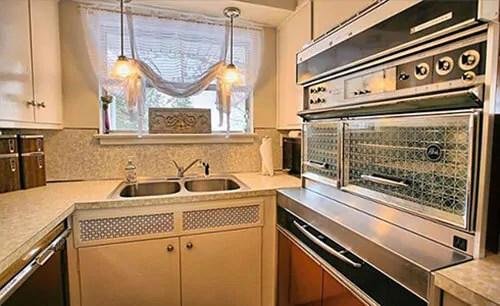 frigidaire kitchen appliances nook lighting ideas 32 photos - 1960 time capsule mid century modern ranch ...