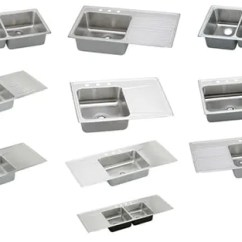 Kitchen Sinks With Drainboard Built In Contemporary Decor 8 Places To Find Drop Stainless Steel Retro 10 From Elkay