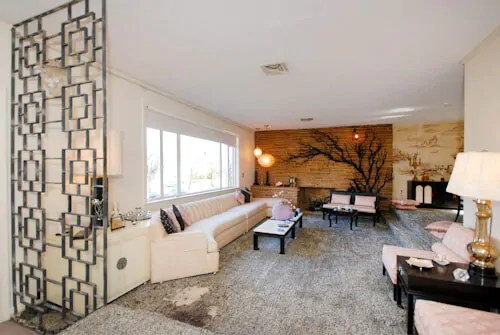 1956 Split Level House Time Capsule With Fabulous Chinoserie
