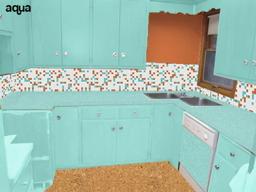 5 Ideas To Repaint Rebeccas Faded Wood Kitchen Cabinets