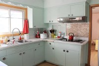 Affordable kitchen knobs and back plates - Kate saves $268 ...