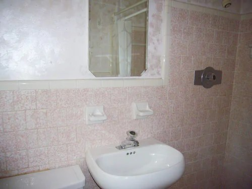 A retro style faucet for Ambers single hole bathroom sink  Retro Renovation