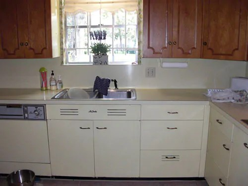 st charles steel kitchen cabinets wood tile retro design ideas for cathy's yellow and maple ...