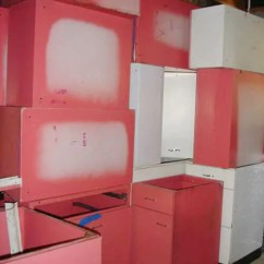 Kitchen Cabinets For Sale Craigslist Coastal Table And Chairs Vintage St. Charles In Raspberry - Retro ...