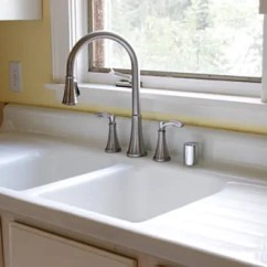Drop In Farmhouse Kitchen Sinks Rolling Islands Emily & Drew Create A Charming 1940s Style - On ...