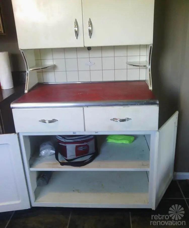 youngstown kitchen cabinets banquette ideas servi-center: super rare metal cabinet ...