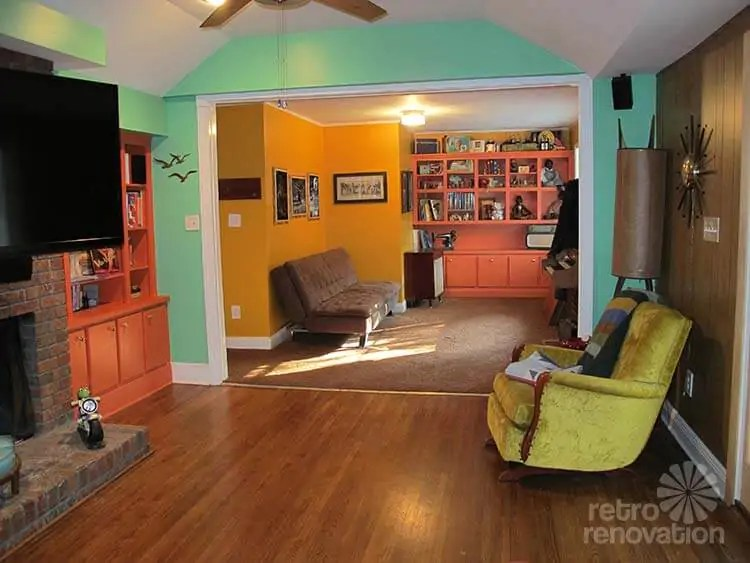 Harmonizing Midcentury Modern Paint Colors Ashley Wants Our Help Retro Renovation