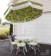 16-piece vintage Homecrest patio set - all original ...
