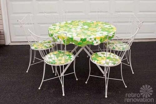 16 piece vintage homecrest patio set