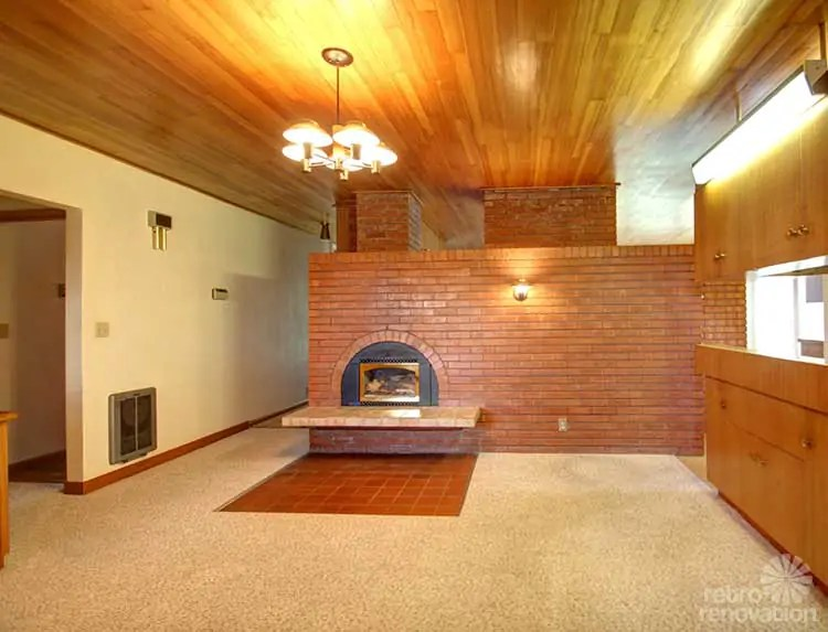 formal living room sofa simple decorating ideas pictures 1,200 s.f. midcentury modern farm house time capsule ...
