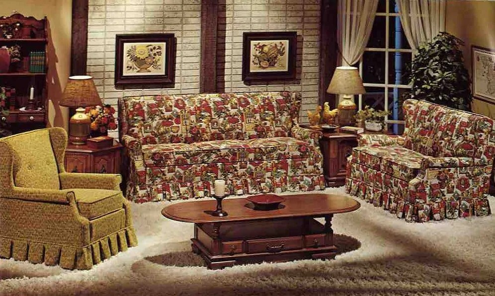 early american style sofas narrow corner uk retro renovation's 2014 color of the year: harvest gold ...