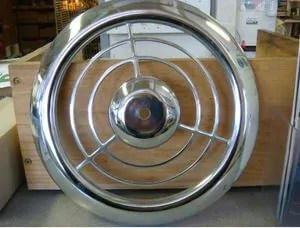 kitchen fan cover remodeling st louis big find nos chrome emerson pryne exhaust grille covers