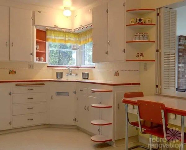 red and white vintage kitchen 1000+ images about Dream Kitchen =Vintage/Retro on