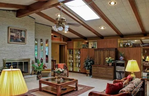 kitchen remodel san antonio round sink impeccable 1972 time capsule house in - 33 ...