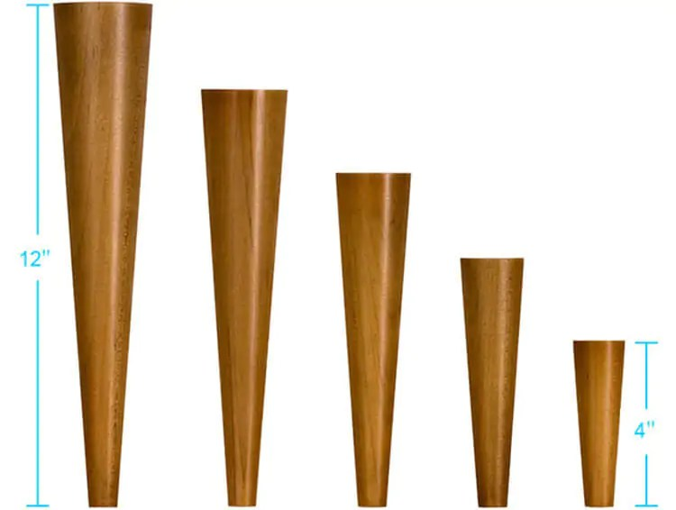 4 Sources For Mid Century Modern Furniture Legs Retro
