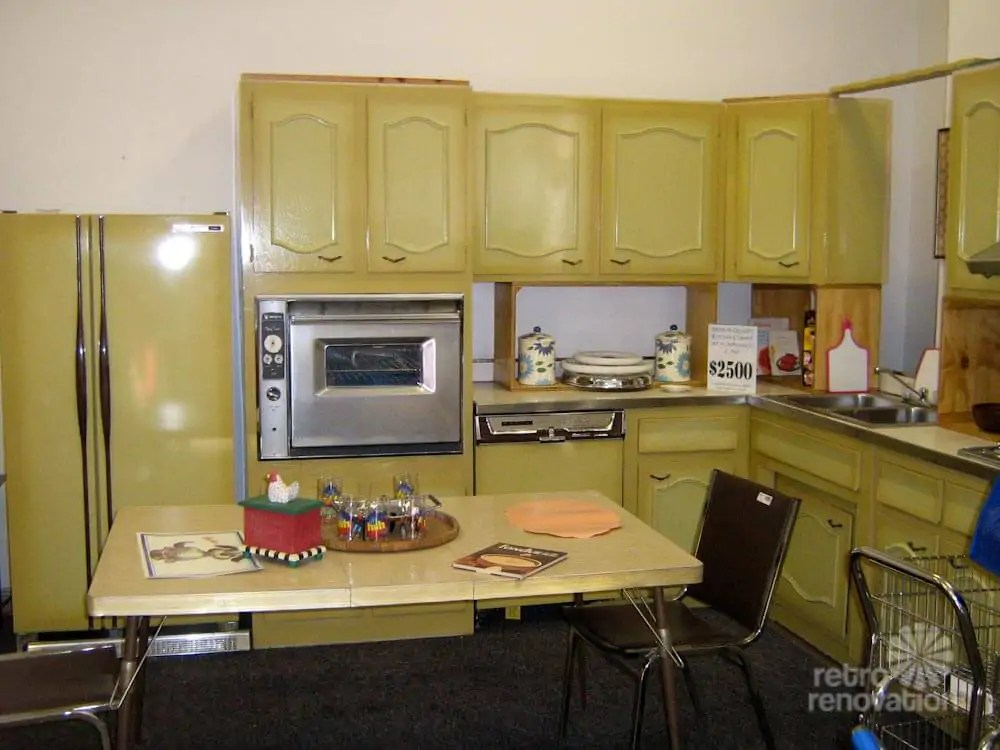 modern kitchen light fixtures 2 tier island never used! a 1960s harvest gold for sale in ...