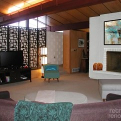 Decorate Large Living Room How To Choose Colors Paint For A Fireplace In Kathy's Mid-century Modern ...