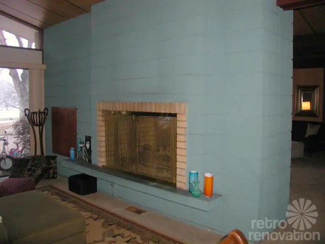house of turquoise living room end tables paint colors for a fireplace in kathy's mid-century modern ...