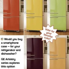 Ge Artistry Kitchen Barstools Would You Buy A Smartphone Case - For Your Refrigerator ...