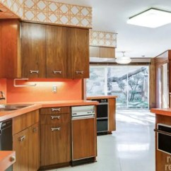 Bamboo Kitchen Cabinets California Pizza App Luxurious, Asian-decor 1962 Time Capsule House - 24 Photos ...