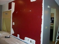 Jeff's retro modern accent wall design - Retro Renovation