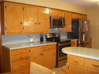 A family rebuilds and restores a 1953 kitchen to its ...