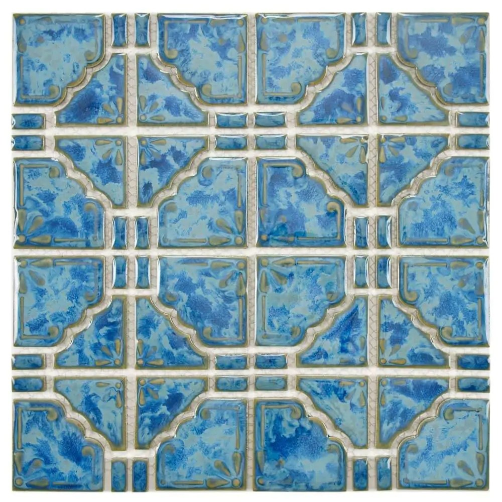 1970s style wall and floor tile