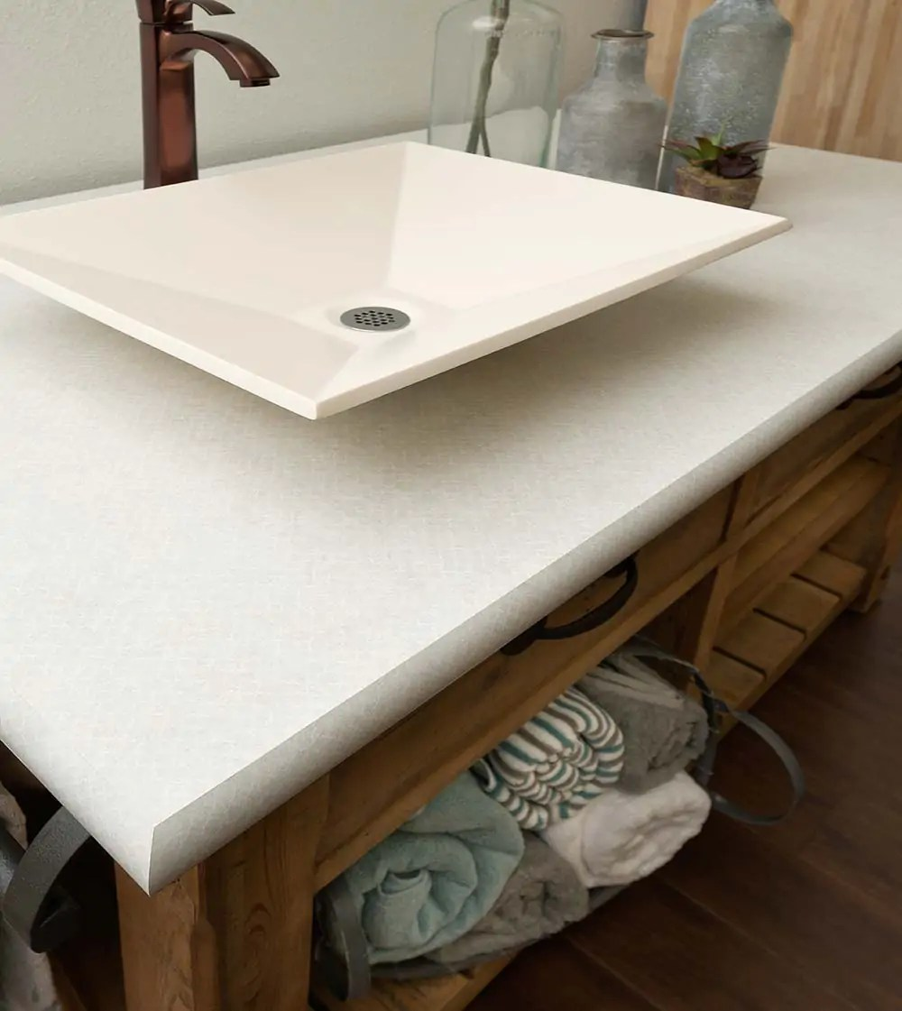 pink countertops kitchen lights for over table wilsonart endora and betty laminates - two terrific new ...