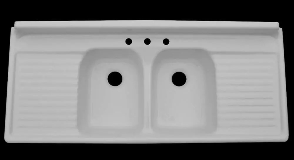 used kitchen cabinets chicago sink refinishing farmhouse drainboard sinks - retro renovation