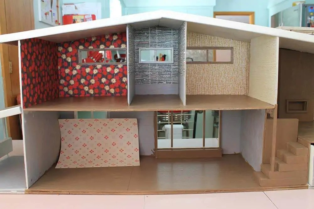 14 vintage wallpaper options for the dollhouse  Retro