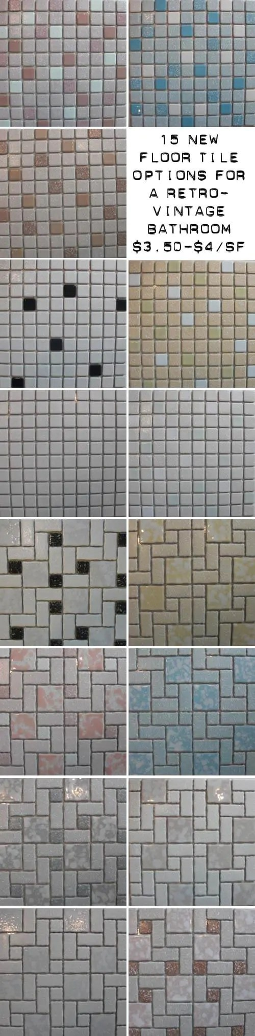 15 new mosaic floor tile designs for a