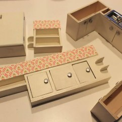 Kitchen Cabinets Hinges Replacement Island Cost A Vintage + Custom For The Betsy Mccall Dollhouse ...
