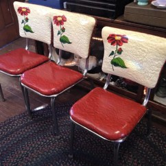 Kitchen Chair With Arms Rubber Mats The Prettiest Vintage Red Dinette We've Ever Seen - Retro ...