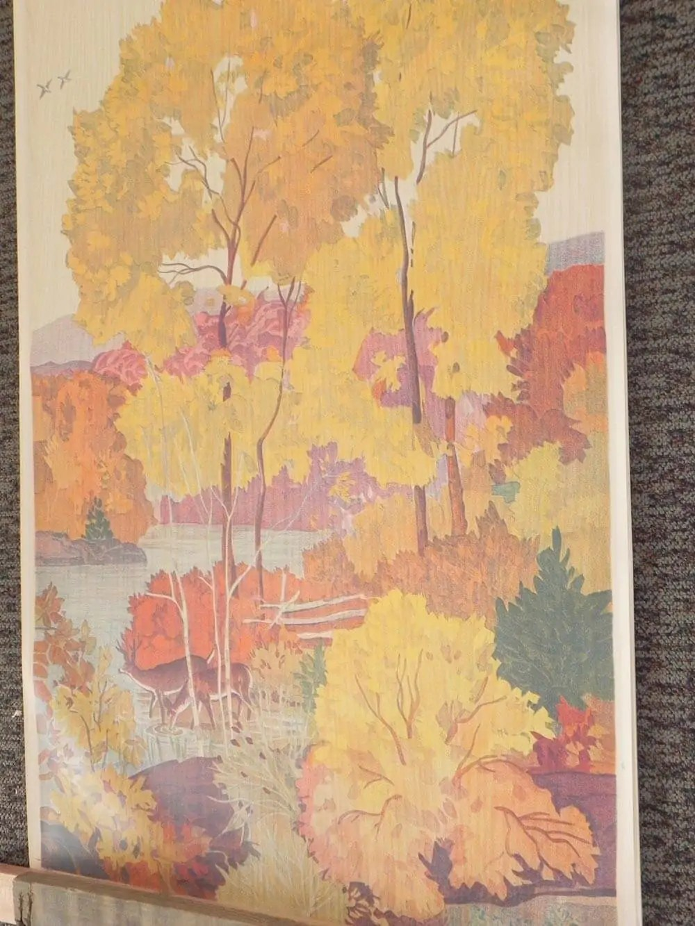 Fall Time Wallpaper Full Room Vintage Wallpaper Murals By The Schmitz Horning