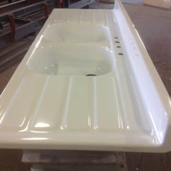 How To Refinish Kitchen Sink Couch Reporcelain Steel Sinks, Stoves And Other Vintage ...