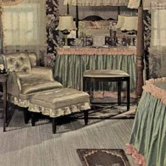 Dollhouse Sofa Ivory Slipcover 21 Early 1940s Interior Designs By Hazel Del Brown Of ...